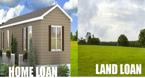 How is land loan not quite the same as home loan for Land home mortgage